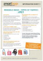 Reusable Bag Fabric - rPET