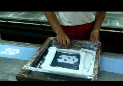 Tour of Printing Factory - Silk Screen Printing