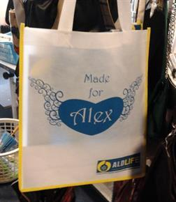 ALD Life Tote Bag for Charity Shops