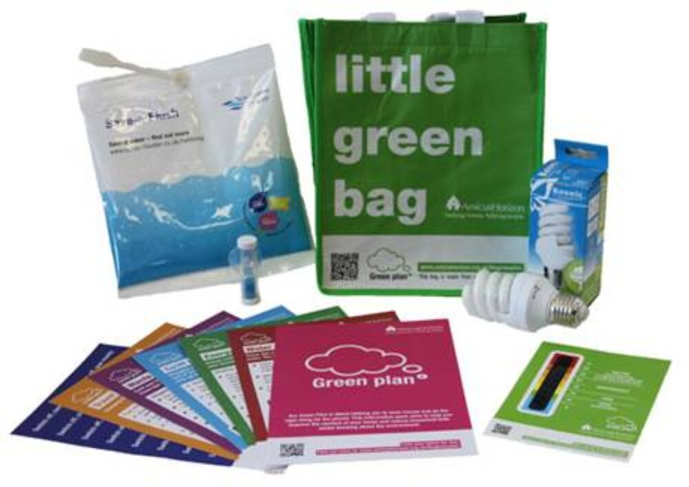 """The Little Green Bag"" - Using Goody Bags to Promote Green Living"