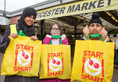 Start Smart Event Bags Promote Healthy Eating Campaign