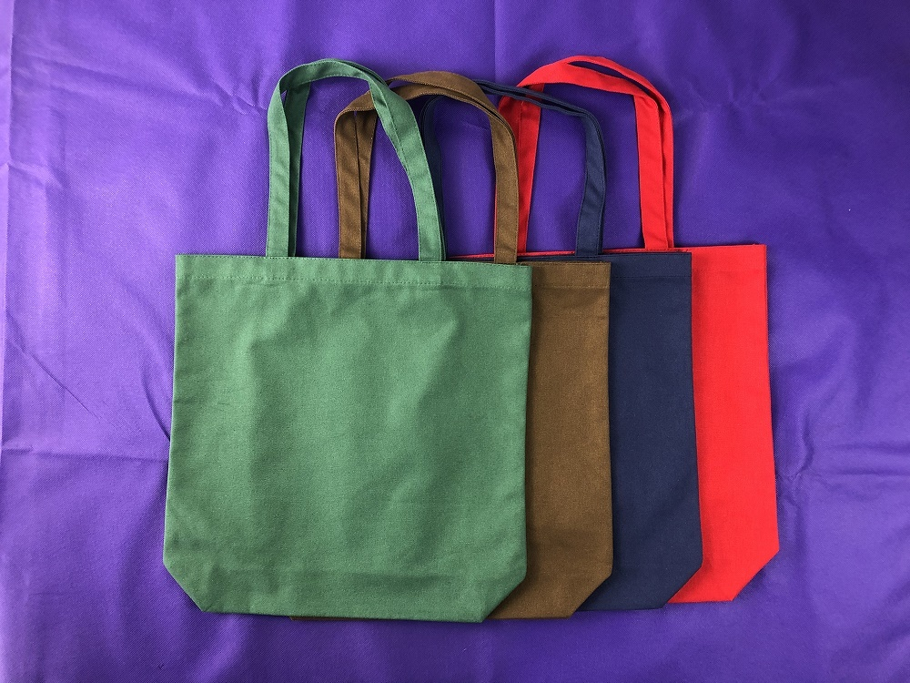 Bespoke 12oz Canvas Tote bag with base gusset only