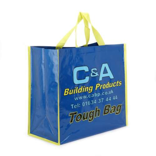 Large Recycled Shopping Bag (Laminated)