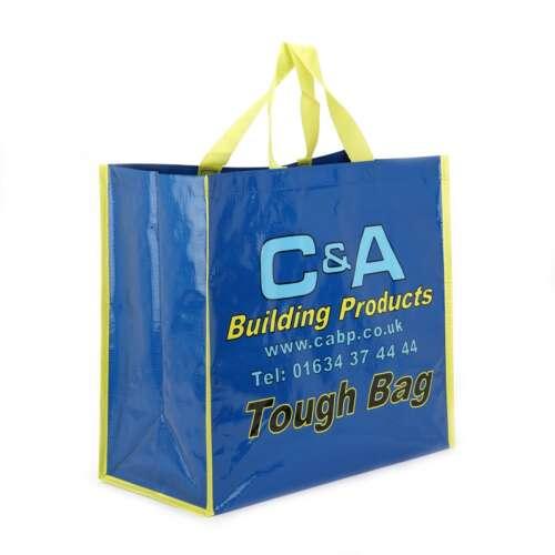 Large Recycled Shopping Bag (Laminated)