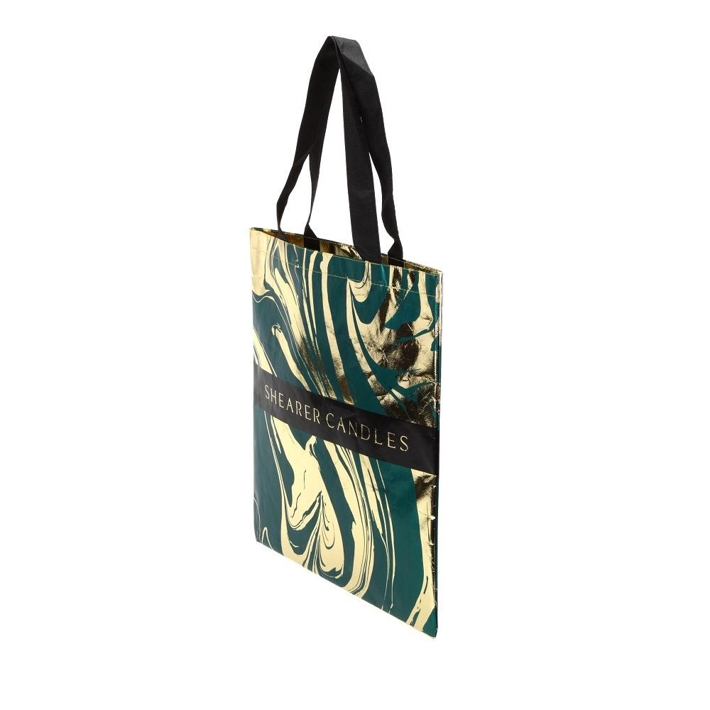 Metallic Shopper Bag (Laminated)