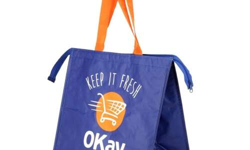 Recycled Promotional Shopping Bags for Retail & Food / Delivery Industries