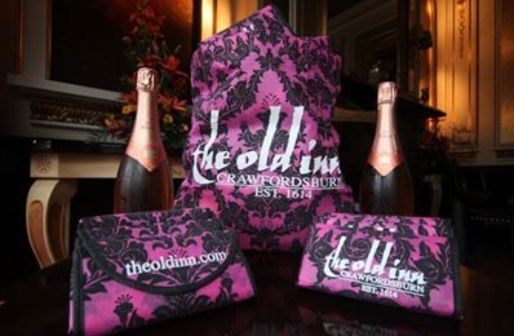 Promotional Bags Raising Brand Awareness for The Old Inn Hotel