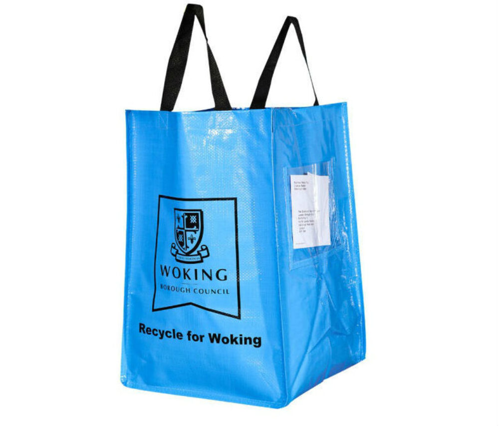 Recycling Bags Helping to Protect our Environment for the Future!