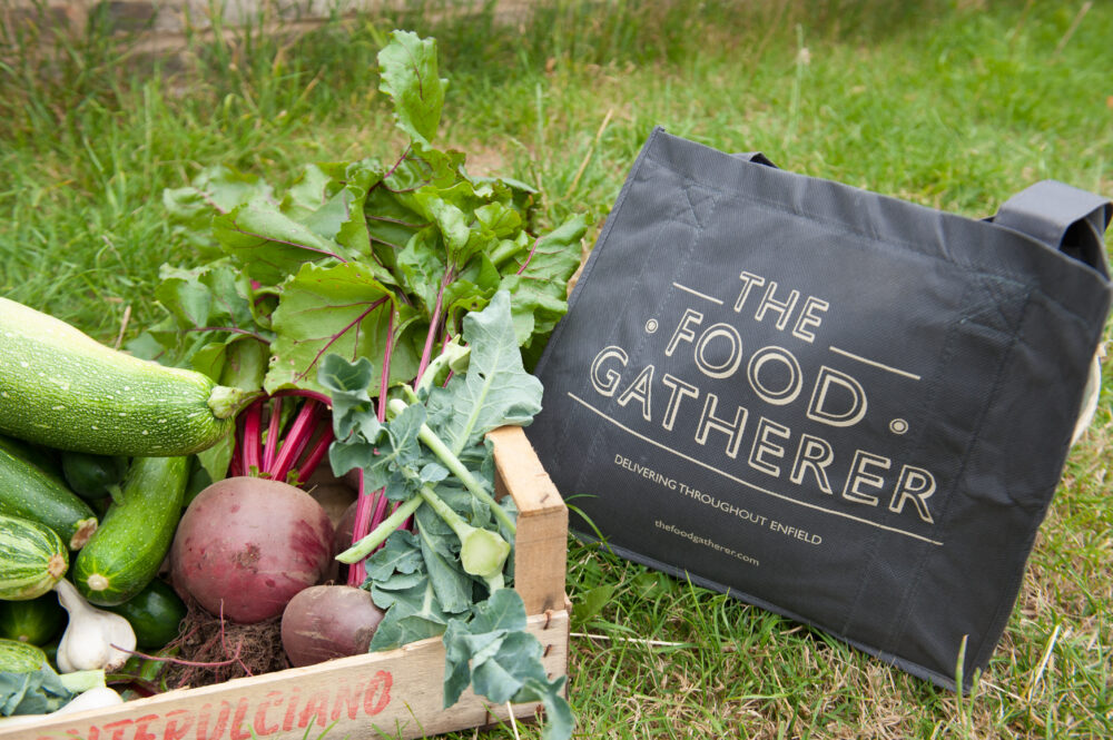 The Food Gatherer Protect the Environment & Promote Their Brand