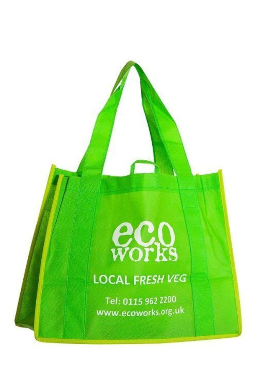 Ecoworks - Heavy Duty Bags Delivering Produce