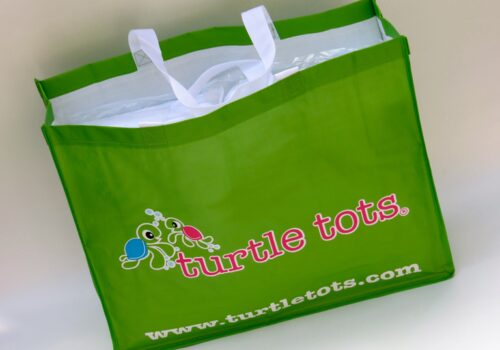 Turtle Tots Practical Branded Bag is a Hit with Customers and Licensees