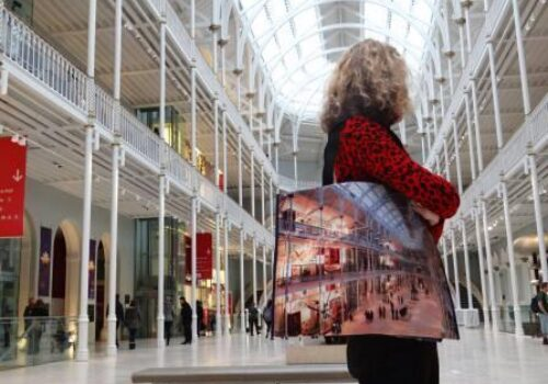 Bag Charge Scotland Helps Generate Revenue & Publicity for National Museum