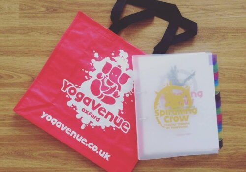 YogaVenue - Using Branded Bags to Boost Customers Brand Experience