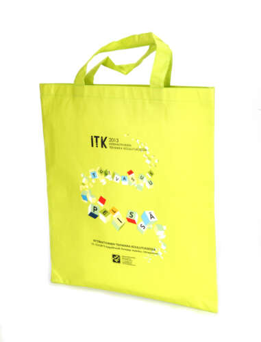 Tote without gusset (Laminated)