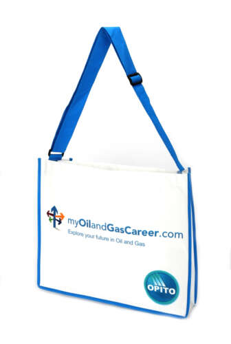 Laminated Messenger Bag (Without Flap)