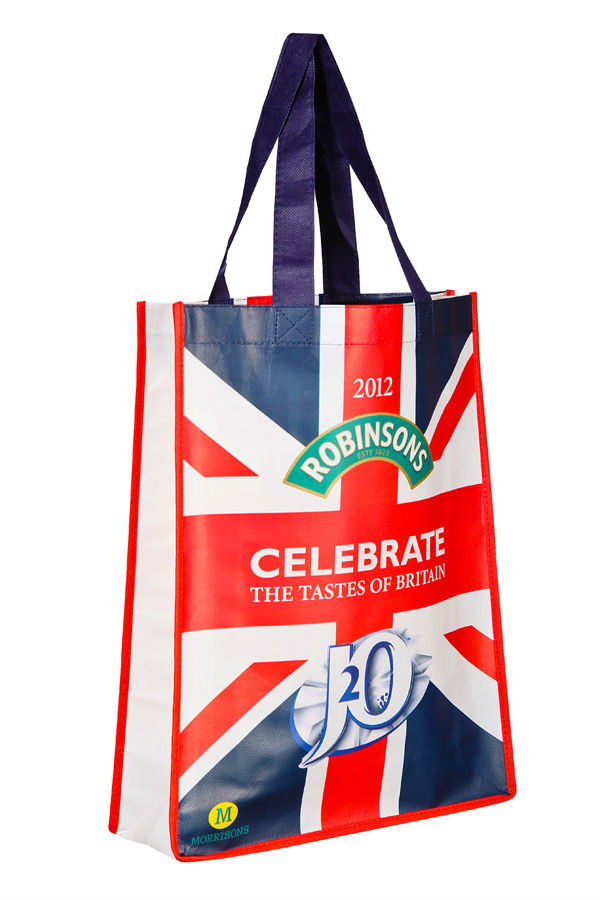 Small Promotional Tote Bag (Laminated)