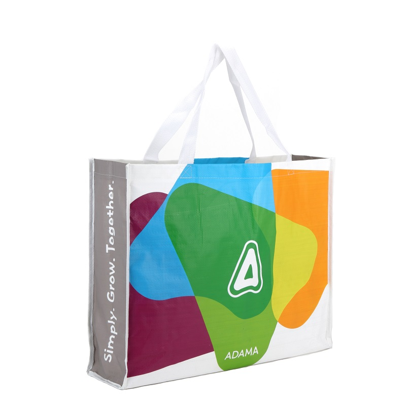 Landscape Tote Bag with 14cm gussets (Laminated)