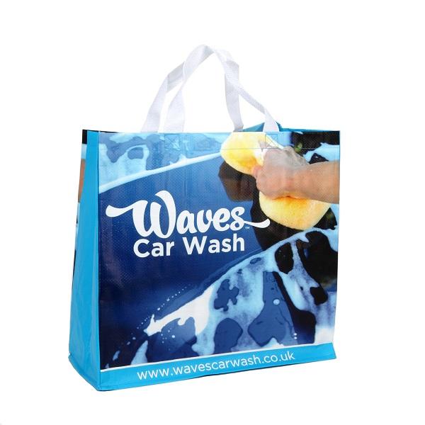 Sainsbury's Style Medium Shopping Bag (Laminated)