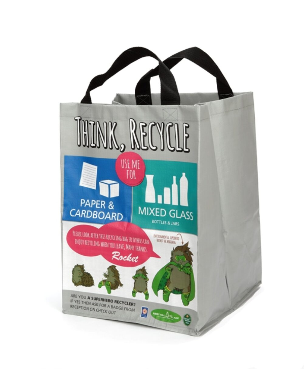 Using Recycling Bags & Shopping Bags to Promote Recycling Initiatives and Improve Recycling Rates