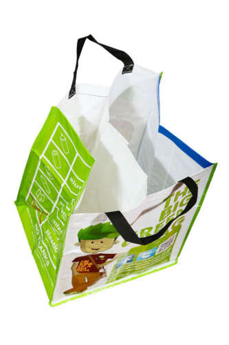 70 Litre Woven PP Recycling Bag (Laminated)