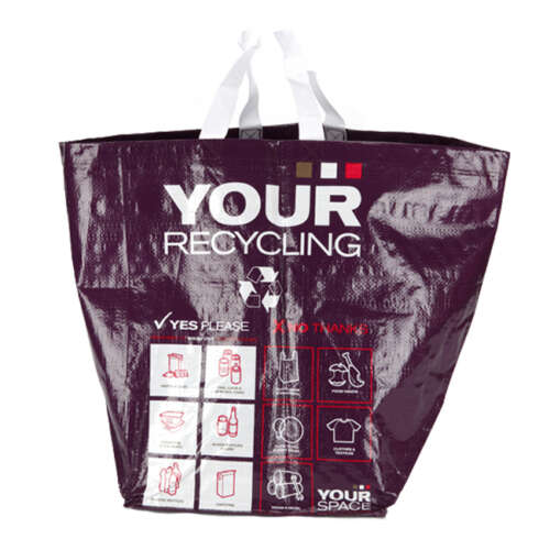 40 Litre Circular Style Recycling Bag (Laminated)