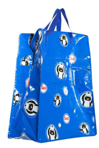 Jumbo Storage Bag with Zipper Lid (Laminated)