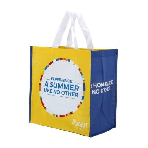 Small Tesco Style Shopping Bag (Laminated)