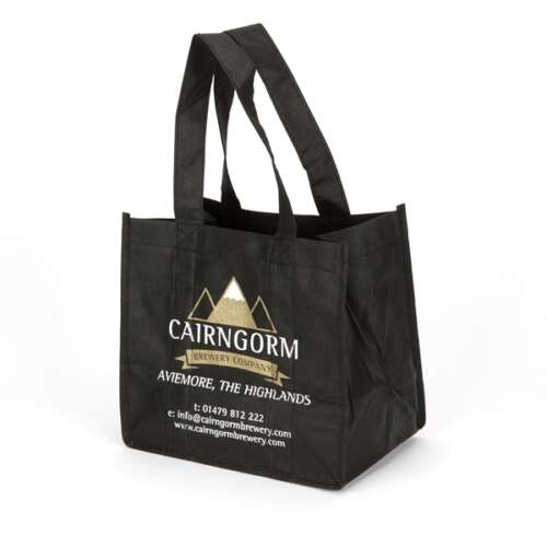 Premium 6 Beer Bottle Bag with Folded Dividers