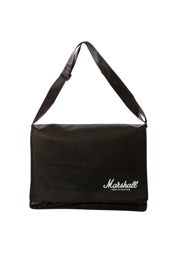 Wide and Low Messenger Bag