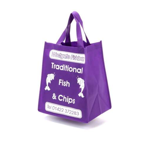 Takeaway Bag with Webbing Handles